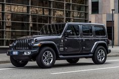 The new Jeep Wrangler will go on sale across Europe later this year. Jeep Wrangler Renegade, Black Jeep Wrangler, Jeep Wrangler Sahara, Wrangler Jk, My Dream Car, Dream Cars, Hummer Truck, Jeep Baby, Top Luxury Cars
