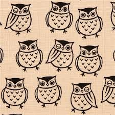 Image result for owl fabric