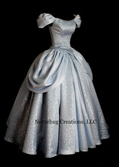 Adult Cinderella New Parks Custom Costume by NeverbugCreations
