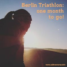 Just one month to go until I compete in my first triathlon! Read all about my training over the last month on my blog.