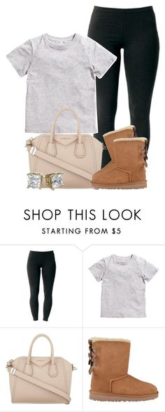 """""""What Y'all Doing?"""" by ariangrant ❤ liked on Polyvore featuring Joe Browns, H&M, Givenchy and UGG Australia"""