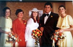 old-school swag :) Dad, my aunts, & Grandma Across The Universe, Aunts, Bridesmaid Dresses, Wedding Dresses, Old School, Swag, Dads, Weddings, Fashion