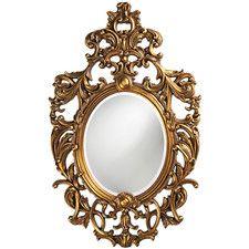$316  Ornate Dorsiere Wall Mirror