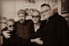 Mudd Club Fabulous Four: The Original Line Up... Gretchen, David Azarch, Richard Boch & Joey Kelly Photo: Sean Lindert