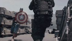Captain America: The Winter Soldier (gif).  The fight sequences in this movie were stellar!