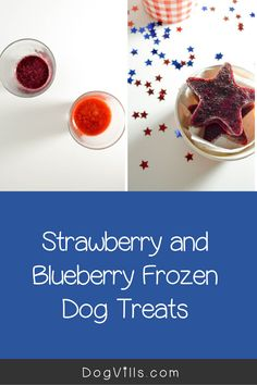 Ready for another delicious frozen dog treat that you can enjoy too? Today we're whipping up a tasty strawberry and blueberry frozen dog treat! Frozen Dog Treats, Best Dog Food, Dog Food Recipes, Blueberry, Strawberry, Tasty, Dogs, Blueberries, Pet Dogs