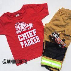 Firefighter Birthday Shirt, Fireman Birthday Shirt, Firetruck Birthday Shirt, Firefighter Birthday Party, Firefighter shirt, Fireman shirt