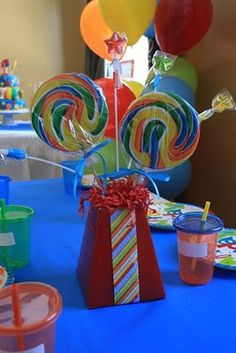 Candyland Center Piece