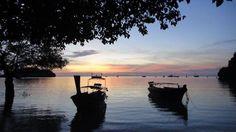 Railey island, Karbi, Thailand  snapshot during sunrise