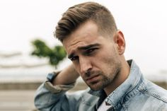 Guys: Get the Look with Men's Hair Trends for Fall/Winter 2015: Men's Hair Trend: �The Faded Quiff Haircut