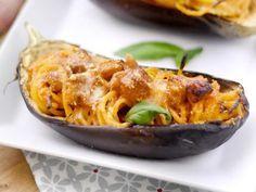 Melanzane ripiene di spaghetti - Ricetta