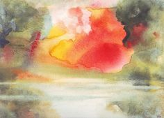 Branka Bozic, artist - watercolor