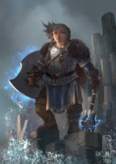 Dnd Halfling, Paladin, Character Concept, Character Art, Character Design, Character Ideas, Dnd Characters, Fantasy Characters, Female Characters