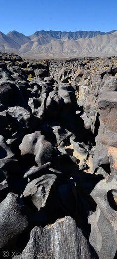 Fossil Falls, off Highway 395, Ridgecrest, California