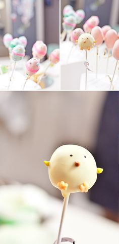 DIY Cake Pops for Easter - Wedding Delusion . - DIY cake pops for Easter Informations About DIY-Cake Pops zu Ostern – Hochzeitswahn – Sei inspir - Easter Cake Pops, Easter Cupcakes, Bolo Diy, Cake Mixture, Cake Recipes From Scratch, New Cake, Velvet Cake, Pink Velvet, Cake Decorating Tips