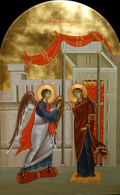 The Annunciation. Festival icon. 2013