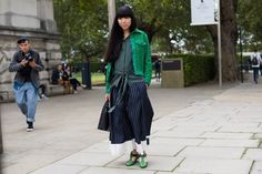 This article discusses how street style came to be and why it's still so popular. Street style can be considered a zeitgeist because it's super relevant and popular amongst the fashion-forward. (Ashlin Hansen 10/29)