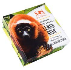 Srebrna moneta - Lemur, 1 dolar, SOS dla świata - Zagrożone gatunki zwierząt
