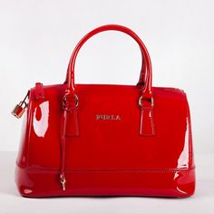 FURLA CANDY BAG RED