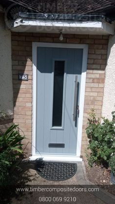 This Oozes excellence externally and internally! Design, price and order your perfect door online instantly! Timber Composite Doors are the UKs Solidor Supplier and installer! All Doors come with Finance available Contemporary Front Doors, Modern Contemporary, Doors Online, Composite Door, French Grey, Duck Egg Blue, Door Design, Composition, House Plans