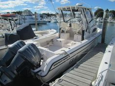 One fine fishing boat, 2003 Grady-White 282 Sailfish is a reel catch. Features include Yamaha Outboards Four Stroke Motors, Garmin Fishfinder, Furuno Marine Electronics Radar, and more. Check out Gray Ghost. Grady White Boats, Used Boats, Boats For Sale, Fishing Boats, Yamaha, Motors, Electronics, Gray, Check