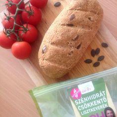 Light paleo kenyér Paleo, Clean Breakfast, Croissant, Baked Potato, Hamburger, Healthy Recipes, Bread, Baking, Ethnic Recipes