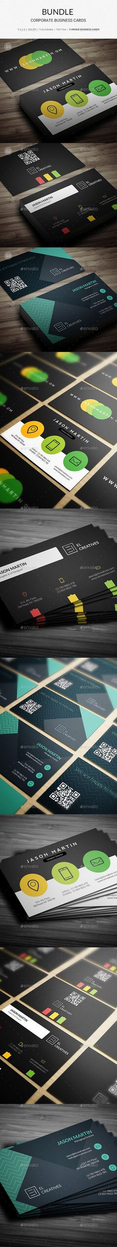 Bundle - Creative Business Card - 159 - Creative Business Cards Download here : https://graphicriver.net/item/bundle-creative-business-card-159/17645339?s_rank=47&ref=Al-fatih