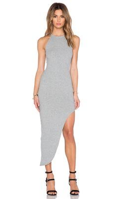 RISE OF DAWN Charlize Maxi Dress in Grey | REVOLVE
