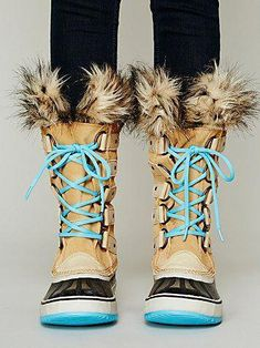 Joan Of Arctic Boot I would love them more without the blue.  winterboots  Cute 9d299617c3