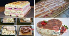 11 nejlepších receptů na jednoduché a rychlé nepečené dezerty, ze kterých si určitě vyberete | NejRecept.cz Pavlova, No Bake Cake, Vanilla Cake, Tiramisu, Banana Bread, Cheesecake, Buffet, Sandwiches, Nutella