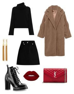 A fashion look from February 2018 featuring turtle neck sweater, woolen coat and wool skirt. Browse and shop related looks. Black Outfits, Classic Outfits, Fall Outfits, Fashion Pics, Fashion Beauty, Fashion Looks, Brown Outfit, Marley Rose, Black Clothes