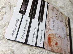 piano+wedding+invitations   Piano Wedding Programs or Invitations - Layered Vintage Piano Sheet ...