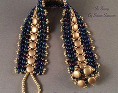 Etherial pescó perla collar de cornetas por SoSassySusanSassoon