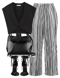"""Untitled #4174"" by maddie1128 ❤ liked on Polyvore featuring Topshop, Kara, Alice + Olivia and Schutz"