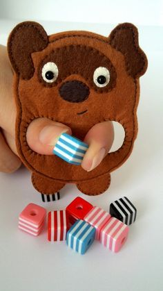 Puppet Crafts, Felt Crafts, Book Crafts, Baby Toys, Kids Toys, Felt Fish, Puppets For Kids, Felt Finger Puppets, Sock Animals