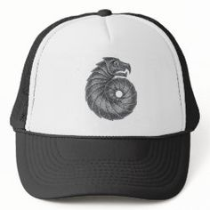 Baseball Cap AMMONITE black Custom Hats, Custom Clothes, Dinosaur Time, The Bone Collector, Black Ink Tattoos, Dragon Head, Ocean Creatures, Ammonite, All Star