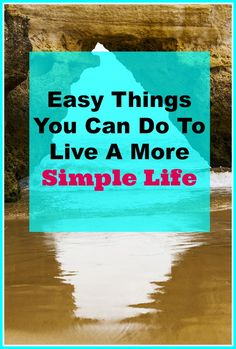 Easy things you can do to live a more simple life. Have you ever wished that you could live a more simple life? Whether you just want to be more focused on your family life, or maybe you want a organized and clutter free home, perhaps you want a financially simpler life to pay off debt, these tips are a great place to begin your journey to living a simpler stress free life. Simple living tips, declutter, stress free, organize