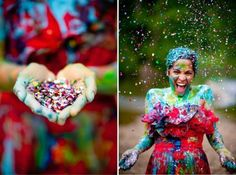 Finding and sharing the very best wedding inspiration from Bridal Make-up ,Wedding Hairstyles, real wedding photos to rustic wedding and DIY wedding ideas Wedding Dresses Photos, Designer Wedding Dresses, Prom Dresses, Post Wedding, Dream Wedding, Rainbow Wedding Dress, Sparkle Paint, Divorce Party, Shower Dresses