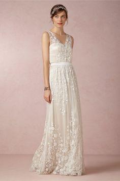 свадебные платья от американского бренда BHLDN
