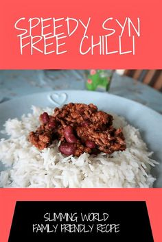 Syn free chilli family meal ideas for Slimming World. Syn Free Chilli Con Carne packed with speed foods and suitable for vegans and vegetarian SW ideas and meals on a budget. Cheap easy to cook low syn free meals for kids Paleo Diet Plan, Best Diet Plan, Diet Meal Plans, Slimming World Speed Food, Slimming World Recipes Syn Free, Slimming World Chilli Beef, Chilli Recipes, Diet Recipes, Healthy Recipes