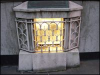 The London Stone. One of London's least recognized landmarks.