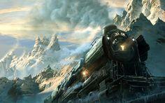 steampunk train - Pesquisa Google