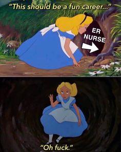 - Nursing Meme - The post appeared first on Gag Dad. Psych Nurse, Nurse Jokes, Healthcare Memes, Medicine Humor, Rn Humor, Nurse Problems, It's All Happening, Emergency Medicine, Emergency Nurse