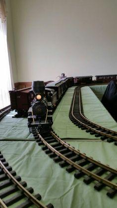 6/25/15. Delavan Wis train show.