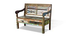 Diese Bank besticht nicht nur durch ihr extravagantes Vintage Design sondern auch durch das authentische Material. Erhältlich bei uns: https://shop.webermoebel.de/online-shop/produktdetails-id1034165/kaufen-Moebel-Weber-Herxheim/Holzbank-Sit-moebel-aus-Holz-in-Holzfarben-Dunkel-Holzbank-im-Shabby-Stil-Altholz-mit-Farbspuren-Breite-ca-120-cm-guenstiger.html