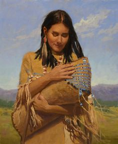 Elizabeth Robbins is a featured artist in the Timeless Legacy Exhibit and Sale. Pieces will be on exhibit August 13 through September with the reception and sale being held Saturday, August to PM. Native American Women, Native American History, Native American Indians, History Images, Art History, Kinkade Paintings, Still Life Artists, Indian Paintings, Indian Art
