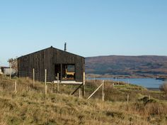 Rural Design Architects, Skinidin, Dunvegan, Isle of Skye. 800 sf.