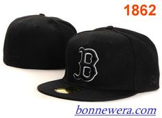 Pas Cher Casquettes Boston Red Sox Fitted 0009 - Acheter MLB Casquettes En Linge - €15.99