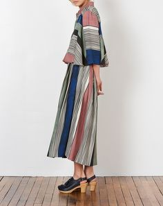 Mara Hoffman Luisa Striped Button-Up Shirt | Covet + Lou