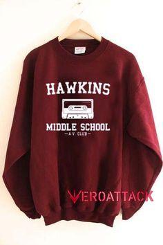 hawkins middle school Unisex Sweatshirts